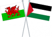 Wales and Palestine Flags