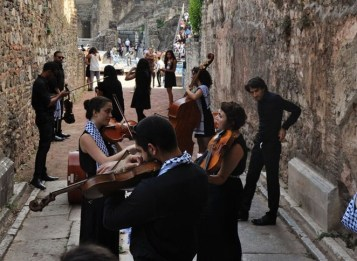 Palestinian youth orchestra